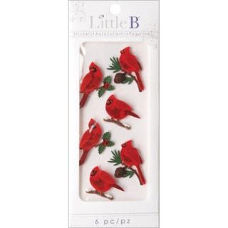 Little B Mini Stickers-Cardinals