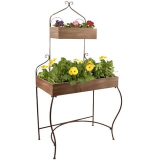 Wald Imports 2-tiered Metal Display Shelf