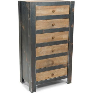 Aurelle Home Rustic Century 6-drawer Dresser|https://ak1.ostkcdn.com/images/products/9487370/P16668561.jpg?impolicy=medium