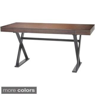 Aurelle Home Wood Contemporary Writing Desk