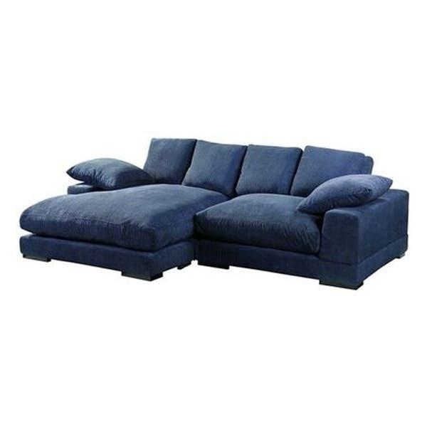 Deep Seat Contemporary Sectional Sofa