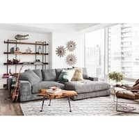 Aurelle Home Polk Sectional Sofa