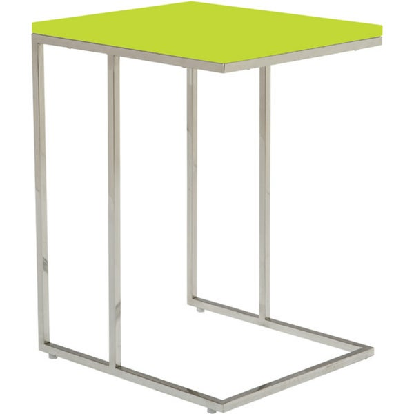 Aurelle Home Modern C Shaped End Table