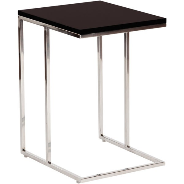 Aurelle Home Modern C Shaped End Table   Free Shipping Today    Overstock.com   16668626