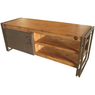 Aurelle Home Industrial TV Stand