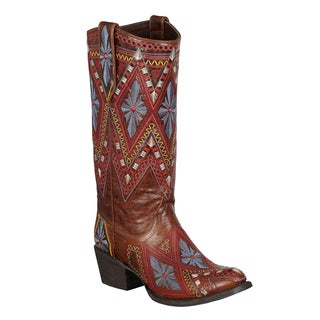 Lane Boots Women's 'Sunshine' Mid-calf Cowboy Boots