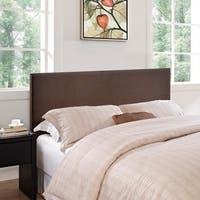 Porch & Den Silver Lake McCready Upholstered Queen Headboard