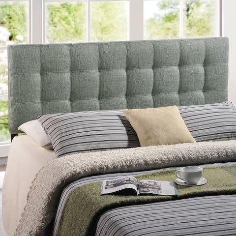 Copper Grove Daisy Fabric Full Upholstered Headboard