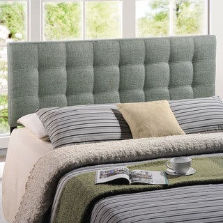 Laurel Creek Payton Fabric Full Size Headboard (3 options available)