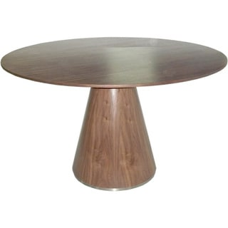 Aurelle Home 47-inch Round Base Dining Table