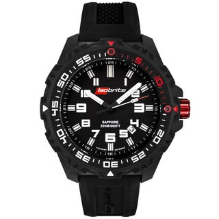 Isobrite by Armourlite Men's 100 Series Black Tritium Watch