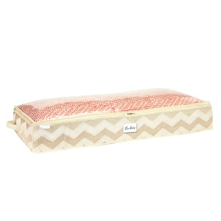 The Macbeth Collection Textured Chevron Printed Under-the-Bed Storage Bag