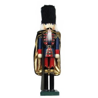 Kurt Adler 36-inch Wooden Nutcracker Soldier