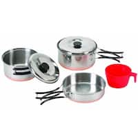 Stansport Single-person Stainless Steel Cook Set