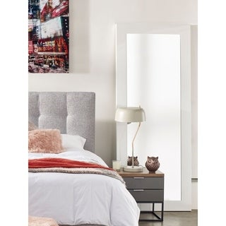 Aurelle Home Large Framed Wall Mirror