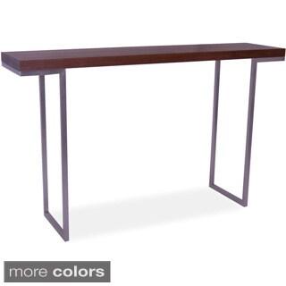Aurelle Home Isabella Lacquer Console Table