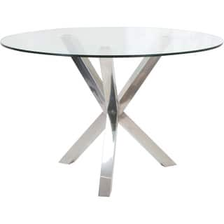 Aurelle Home Sara Round Glass Metal Dining Table|https://ak1.ostkcdn.com/images/products/9488208/P16669194.jpg?impolicy=medium