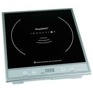 BergHOFF 2214732 Silver Electric Touchscreen Induction Cooktop