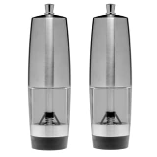 Geminis 2-piece Salt and Pepper Mill Set