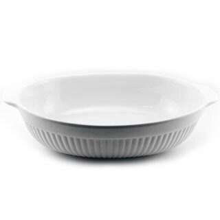 Bianco 14x8.75-inch Oval Baking Dish