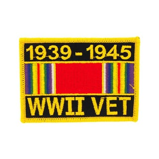 World War II Veteran Service Ribbon Patch