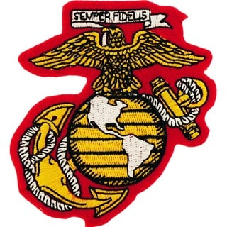 US Marine Corps Globe And Anchor Small Patch