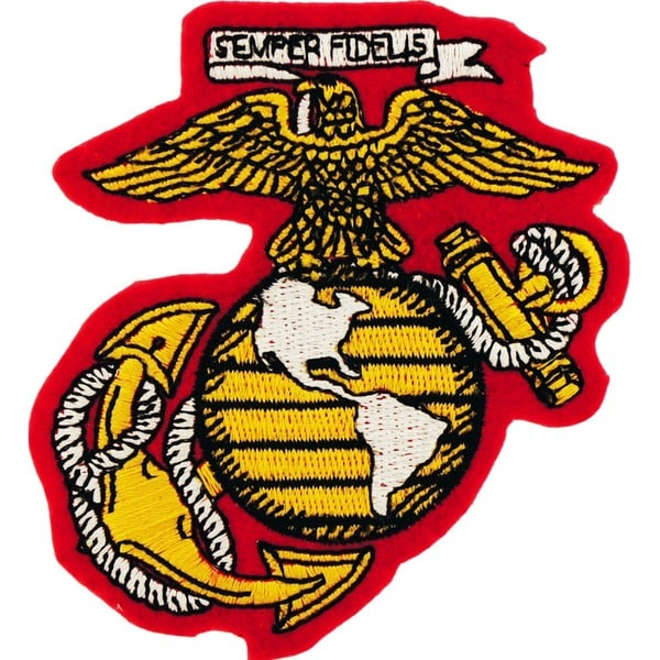 Shop Us Marine Corps Globe And Anchor Small Patch On