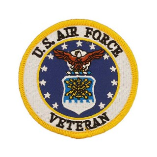 United States Air Force Veteran Patch
