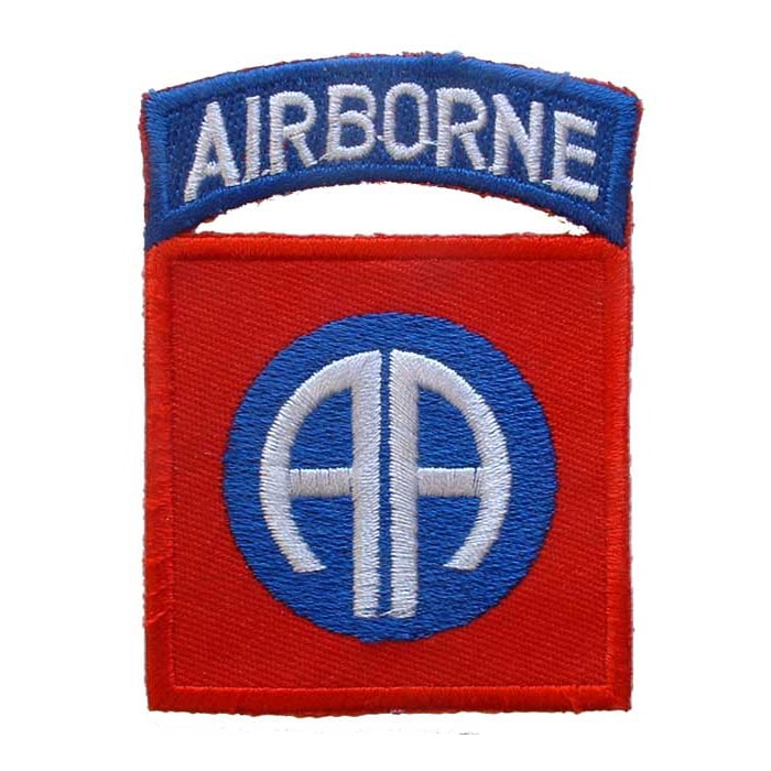 Topps United States Army 82nd Airborne Division Patch (2 ...
