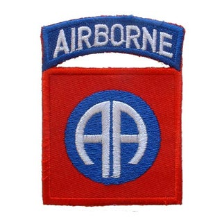 United States Army 82nd Airborne Division Patch
