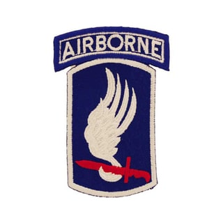 United States Army 173rd Airborne Division Patch