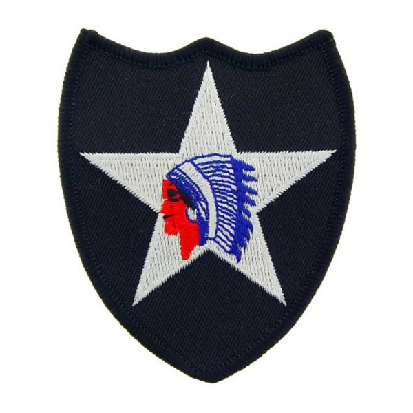 United States Army 2nd Infantry Division Patch