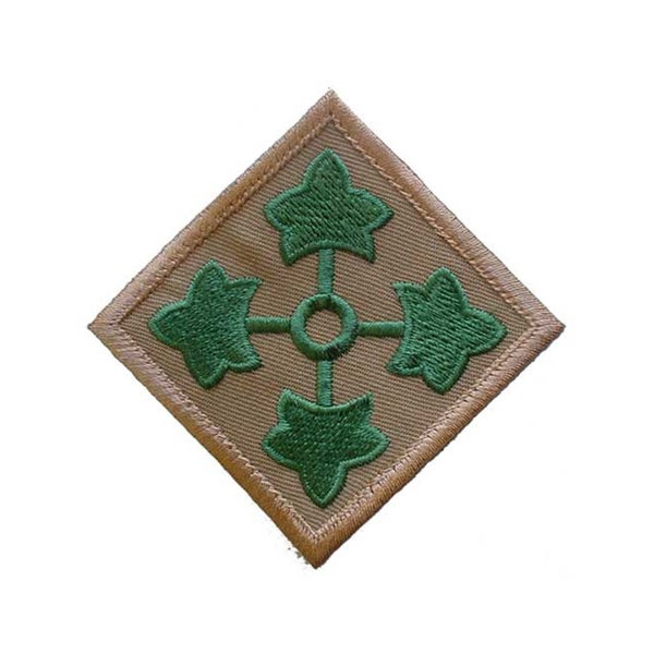 United States Army 4th Infantry Division Patch