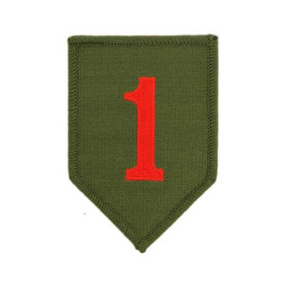 United States Army 1st Infantry Division Patch