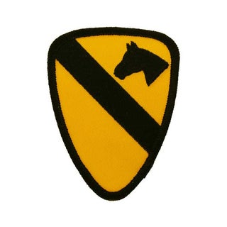United States Army 1st Cavalry Division Patch