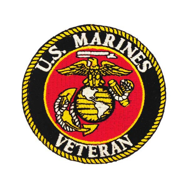 United States Marine Corps Veteran Patch