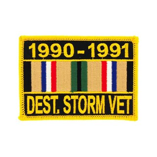 Desert Storm Veteran Service Ribbon Patch