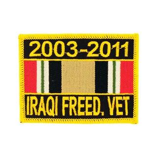 Iraqi Freedom Veteran Service Ribbon Patch