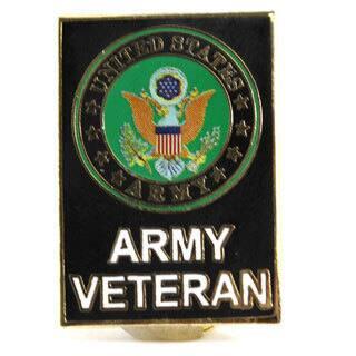 US Army Veteran Pin