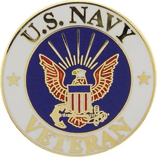 United States Navy Veteran Pin
