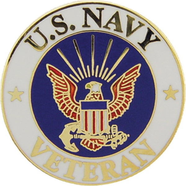 Shop United States Navy Veteran Pin On Sale Ships To Canada