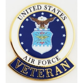 United States Air Force Veteran Pin
