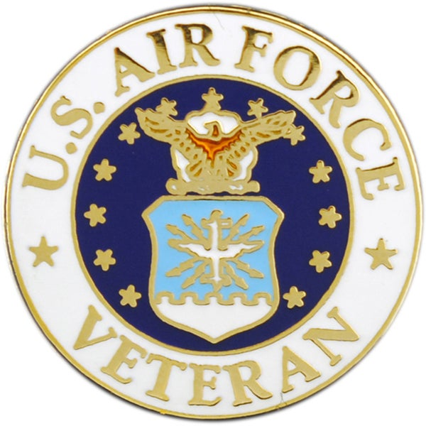 United States Air Force Veteran Pin