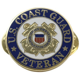 United States Coast Guard Veteran Pin