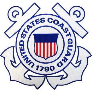 United States Coast Guard Large Patch