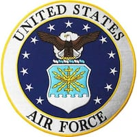 United States Air Force Large Patch