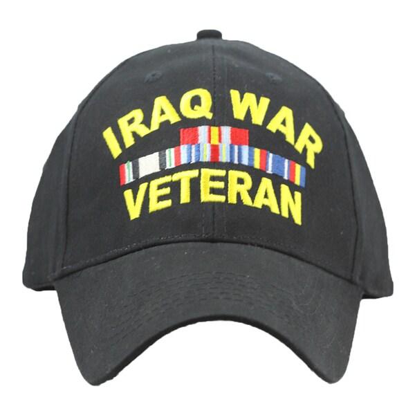 Iraq War Veteran Baseball Cap