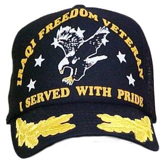 I Served With Pride Scrambled Eggs Veteran Cap