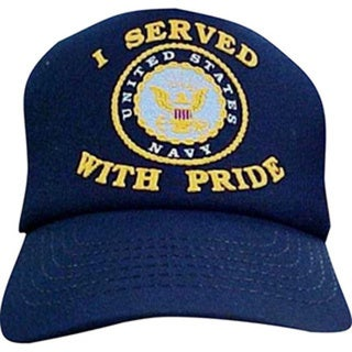 US Navy 'I Served With Pride' Baseball Cap