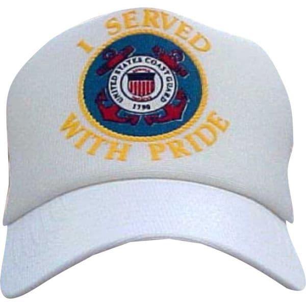 US Coast I Served With Pride Guard Cap